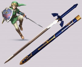 The Legend Of Zelda -  Master Sword Spada Link Zelda