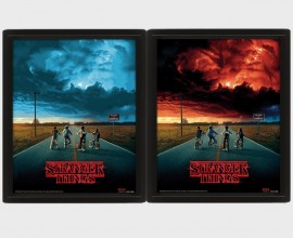 STRANGER THINGS - Mind Flayer - Quadro Lenticolare 3D Doppia Immagine