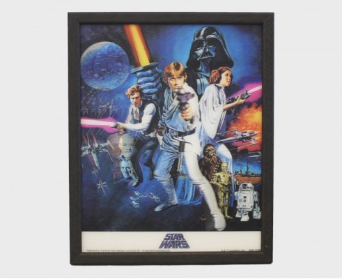 STAR WARS - A New Hope - Quadro Lenticolare 3D