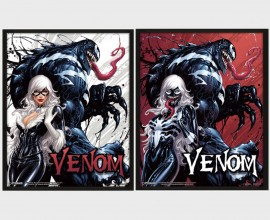 VENOM - Teeth and Claws - Quadro Lenticolare 3D