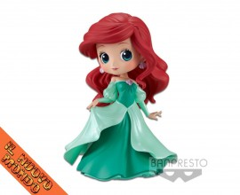 LA SIRENETTA - Ariel - Q Posket Disney Characters - Green Dress - Figure Banpresto
