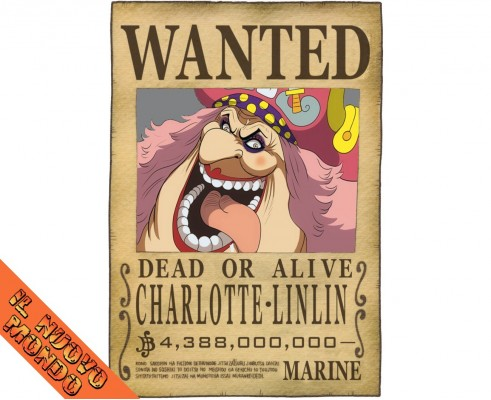 ONE PIECE - Wanted Charlotte LinLin