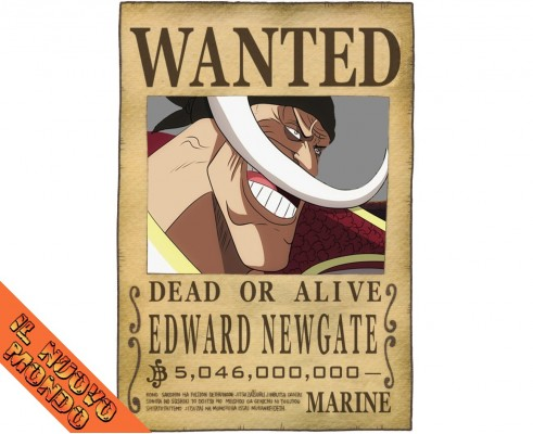 ONE PIECE - Wanted Edward Newgate