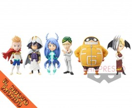 BOKU NO HERO ACADEMIA - World Collectable Figure Vol.5 - SET COMPLETO (Bandai Spirits)