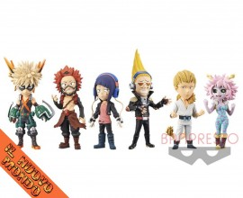 BOKU NO HERO ACADEMIA - World Collectable Figure Vol.3 - SET COMPLETO (Bandai Spirits)