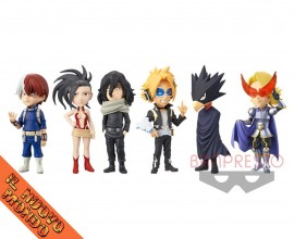 BOKU NO HERO ACADEMIA - World Collectable Figure Vol.2 - SET COMPLETO (Bandai Spirits)