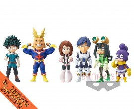BOKU NO HERO ACADEMIA - World Collectable Figure Vol.1 - SET COMPLETO (Bandai Spirits)