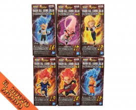 DRAGON BALL LEGENDS Collab - World Collectable Figure Vol.3 - SET COMPLETO (Bandai Spirits)