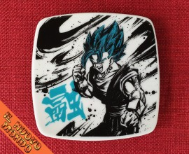 DRAGON BALL - Piattino Goku God Blu