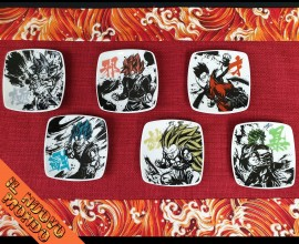 DRAGON BALL - Set 6 Piattini Dragon Ball