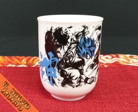 DRAGON BALL - Tazzina da caffè Goku God Blu