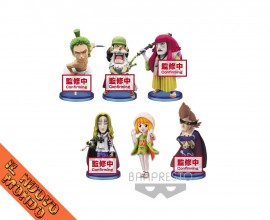 ONE PIECE - World Collectable Figure Wano Kuni Vol.4 - SET COMPLETO (Bandai Spirits)