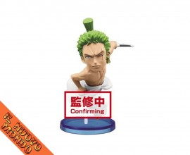 ONE PIECE - World Collectable Figure Wano Kuni Vol.4 - Zoro (Bandai Spirits)