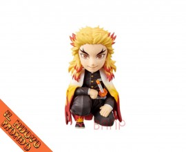 KIMETSU NO YAIBA - Rengoku Kyoujurou - World Collectable Figure - Oyakata-sama no Maedazo Vol.1 (Bandai Spirits)