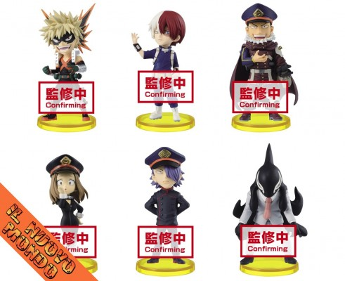 BOKU NO HERO ACADEMIA - World Collectable Figure Vol.8 - SET COMPLETO (Bandai Spirits)