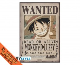 ONE PIECE - Wanted Monkey D. Luffy