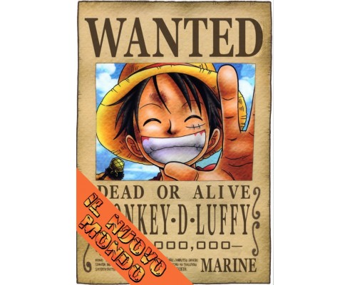 ONE PIECE - Wanted Luffy New World