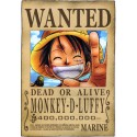 ONE PIECE - Wanted Luffy