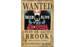 ONE PIECE - Wanted Brook