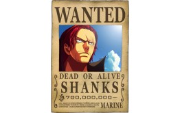 ONE PIECE - Wanted Shanks
