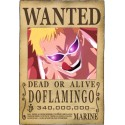 ONE PIECE - Wanted Don Quijote Do Flamingo